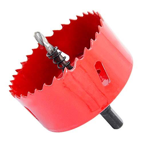 Punta per sega a tazza bimetallica HSS con pergolato per legno e metallo LAIWEI (3-3 8 (85mm)