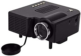 Mini Projector Home Cinema Theater Digital 1080p Hd Led Lcd Portable Projector Support Pc&laptop