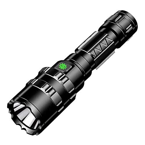 XIXIDIAN Linterna LED de Alta Potencia, luz de lúmez Alta más Brillante, zoomable y Resistente al Agua: pausas linternas de Camping y Engranajes de Emergencia