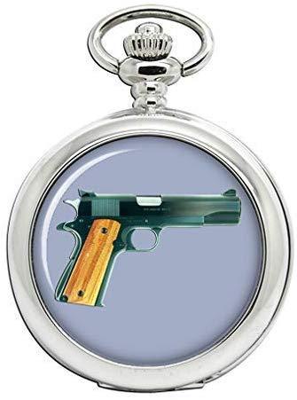 Colt M1911 Pistola Reloj Bolsillo Hunter Completo