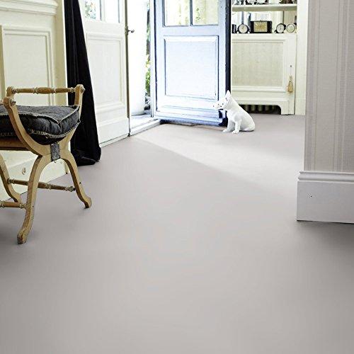livingfloor® PVC Bodenbelag Fotohintergrund Einfarbig Uni Grau 2m Breite, Länge variabel Meterware, Größe:1.00x2.00 m