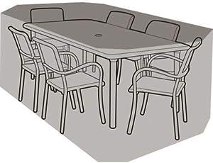 UMKY - Funda Impermeable para Mesa de jardín y Silla