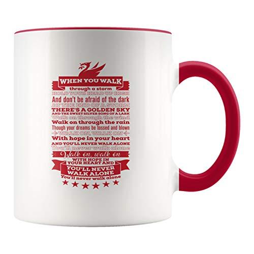 Liverpool YNWA Soccer Coffee Mug - You