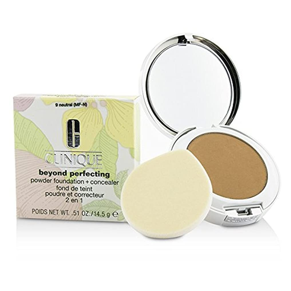 敬請う起きろクリニーク Beyond Perfecting Powder Foundation + Corrector - # 09 Neutral (MF-N) 14.5g/0.51oz並行輸入品