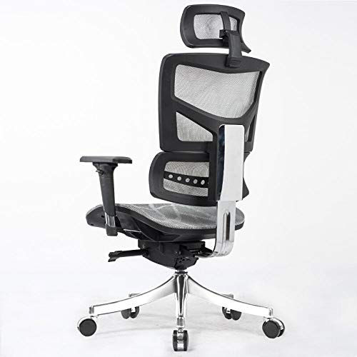 The best of us Artificial computer chair home office chair high-end boss chair recliner gaming chair conference chair-Red net
