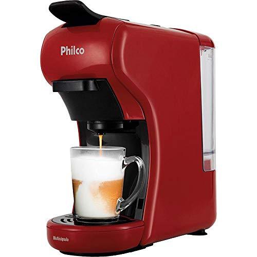 Cafeteira, Multicapsula PCF19VP, 2 xicaras, Preto, 110V, Philco