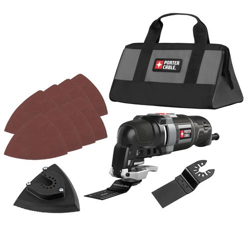 PORTER-CABLE PCE606K 3.0 AMP 11-Piece Oscillating Multi-Tool Kit