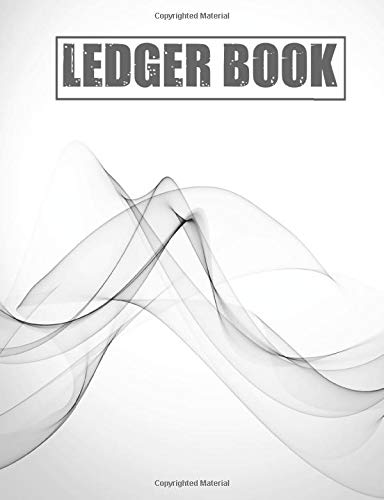 ledger book: income and expense log book, business income and expenses record book, checkbook ledger notebook, income and expense tracker, accounting ... business, rental properties, bills, home