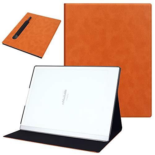 VOVIPO Custodia in Pelle a Libro Ultrasottile con Supporto e Tasca per Tasca per Remarkable 2 10.3 2020 Released Digital Paper