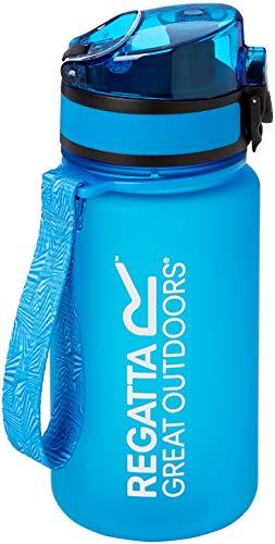 Regatta Unisex 0,35 Liter leichte Tritan Flip Camping-Flasche, blau, SGL
