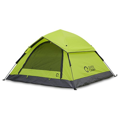 [クイックキャンプ] ワンタッチテント 3人用 フルクローズ サンシェードテント グリーン QC-OT210/ALOT-001