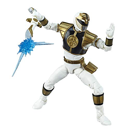 Power Rangers Lightning Collection – Mighty Morphin White Ranger – Figura de acción coleccionable de 15…