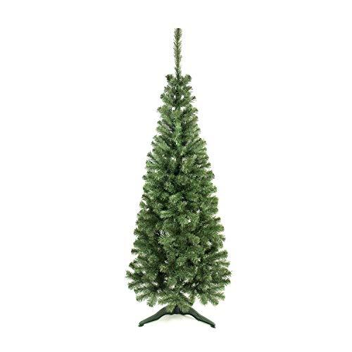 THINIA HOME Árbol de Navidad Alberta 180x70cm Verde