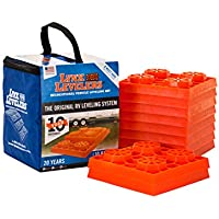 10-Pack Lynx Levelers RV Leveling Blocks with Nylon Storage Case