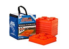 Lynx Recreational Vehicle Leveling Kit, 10/Pack Modular designed levelers not only configure to fit any leveling function, but they also withstand tremendous weight To use: simply set them into a pyramid shape to the desired height that the RV needs ...