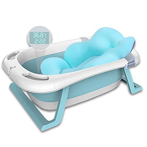 Haioo Bañera Plegable Bebé, Bañeras para Bebes de Viaje de 0 a...