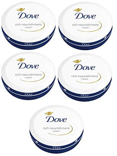 Dove Rich Nourishment Cream 75ml - Pack of 5