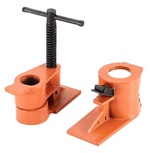 Mordazas de abrazadera de tubería Abrazadera de tubería de 1 pulgada para herramientas de carpintería caseras para pegar madera Perforación para abrazaderas Reparación de manualidades