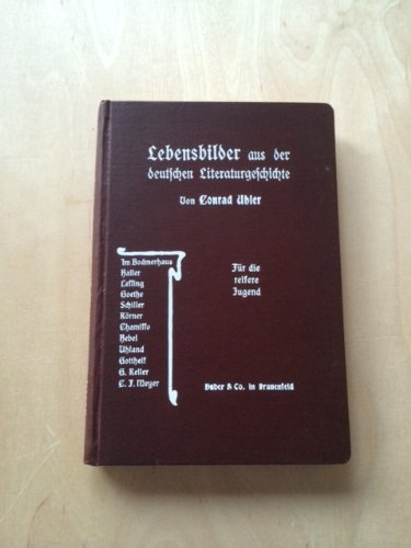 Lebensbilder aus der Deutschen Literaturgeschichte - Für die reifere Jugend