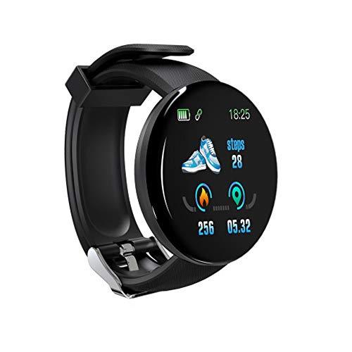 FengshuAI Fitnesstracker, rond scherm, smart armband, kleurendisplay, sport-stappenteller, slaapmonitor, hartslagmeter, sportarmband