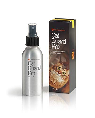 Cat Guard Pro Pet Safe Furniture Cat Repellent - 4oz Spray Bottle - Lemon Scent