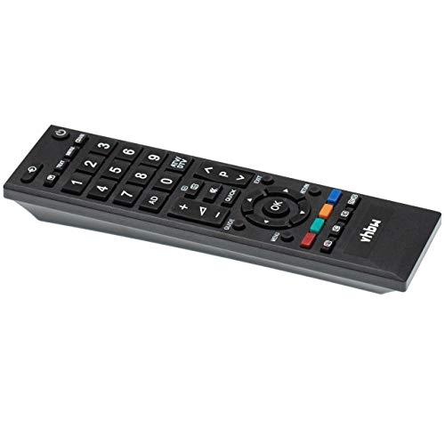 vhbw Fernbedienung passend für Toshiba 32AV603P, 32AV603PG, 32AV603PR, 32AV605P, 32AV605PB, 32AV605PG Fernseher, TV - Ersatzfernbedienung