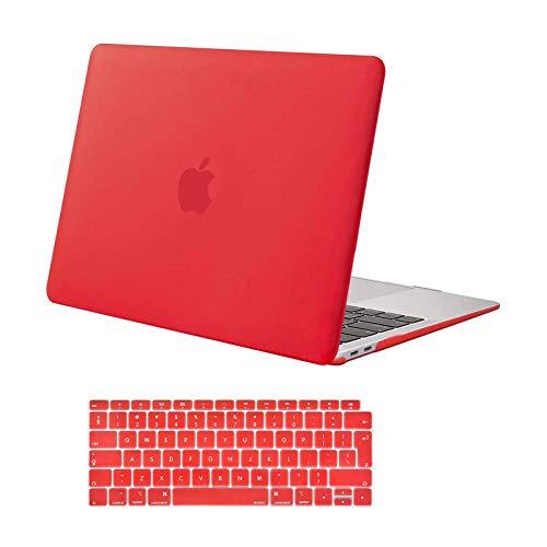 MOSISO Funda Dura Compatible con 2020 2019 2018 MacBook Air 13 Pulgadas...