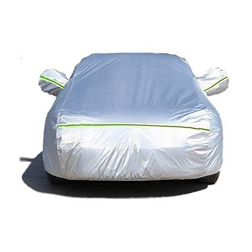 N / A Espesa Cubierta de protección Adecuado para Todo Tipo de Coches | Impermeable al Agua, Nieve, Polvo, Hailproof, a los arañazos, Resistente al Viento, Especialmente Adecuado para la.
