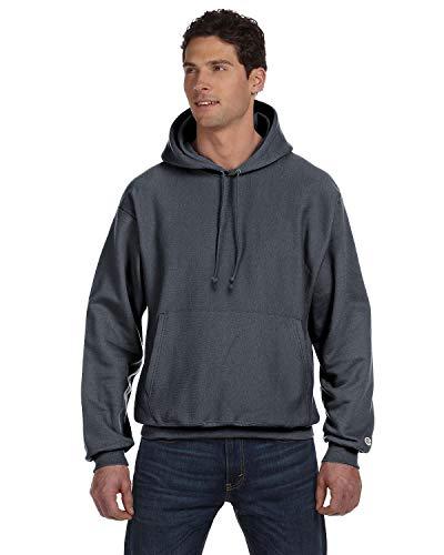 Hanes T-shirt confortable à col côtelé pour femme - Gris - Medium