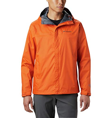 Columbia Men's Watertight II Waterproof Jacket, Backcountry Ora, Large