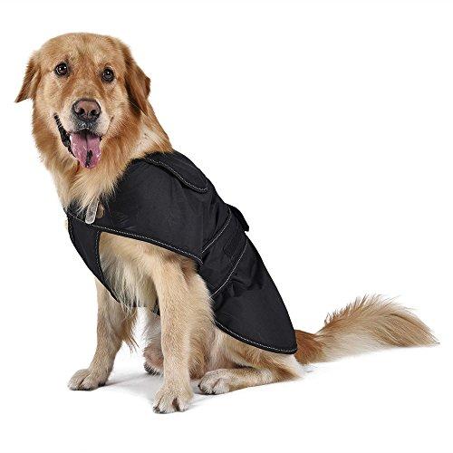 PAWZ Road Hundemantel warm, Hundejacke Hundeweste reflektierend und verstellbar