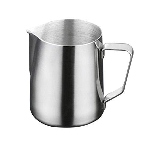 OUNONA 1000ml Milk Pitcher Edelstahl-Milch-Schalen-Aufsch?umen von Milch Pitcher Milchkrug