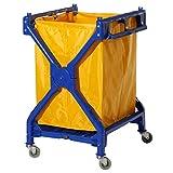 Clim Profesional Carro de lavandería Plegable Carro Plegable para Uso en...