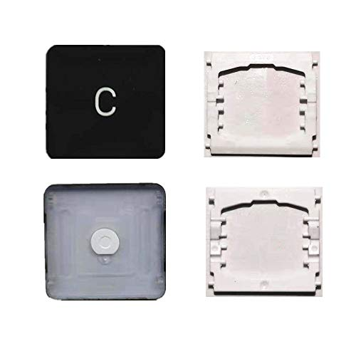 Replacement Individual C Key Cap and Hinges are Applicable for MacBook Pro 13&16inch Model A1989 A1990 and for MacBook Air Model A1932 Keyboard to Replace The C Keycap and Hinge