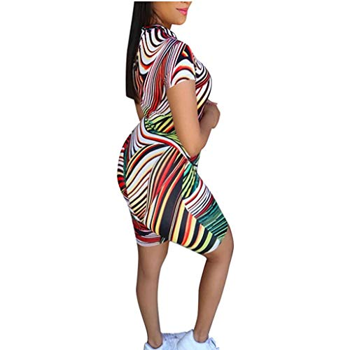 New Toimothcn Casual Tracksuit Women Geometric Print Tops T-Shirt +Short Pants Sports Yoga Outfits 2...
