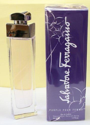 Salvatore Ferragamo Purple Pour Femme Eau de Toilette 1.7 fl oz New In Box