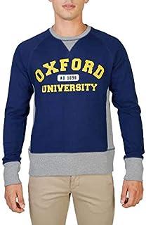 قميص رياضي رجالي من Oxford University باللون الأزرق