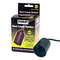 Suitable for all standard screw fitting bulbs Allow you to install a basking or coloured spot lamp into your vivarium No wiring is needed