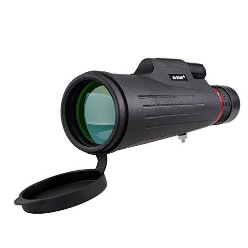 Svbony SV12 Monocolo, 8-24x50 Zoom Telescopio Monoculare, Portatile Compatto FMC Lente Monocolo con Cinturino a Mano per Escursioni Birdwatching Campeggio all'aperto