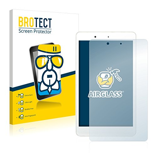 BROTECT Panzerglas Schutzfolie kompatibel mit BQ Aquaris Edison 3 Mini - AirGlass, 9H Festigkeit, Anti-Fingerprint, HD-Clear