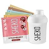 Sostitutivo pasto dimagrante SHEKO mix box | 6 porzioni da 18g in gusti diversi con shaker incluso |...