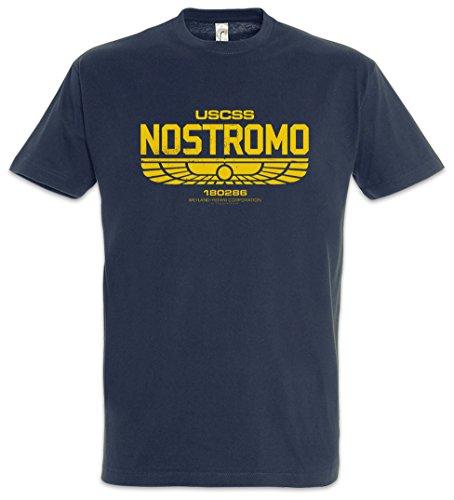 Urban Backwoods USCSS Nostromo IV Camiseta De Hombre T-Shirt Azul Talla M