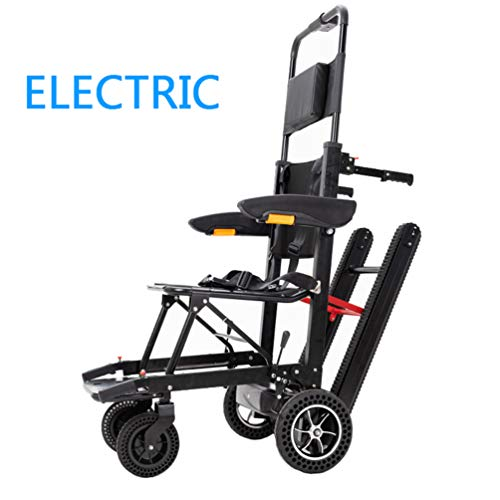 Review HATHOR-23 Luxury Travel Electric Wheelchair, Folding Wheelchairs Up and Down Stairs, for Easy...