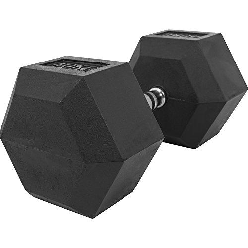 Gorilla Sports Hexagon Studio manubri 2kg–32,5kg in gomma