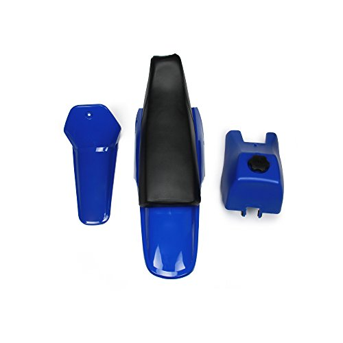 Fairing Plastic Gas Tank Kit Rear Fender - Yamaha PW80 PW 80 - Blue