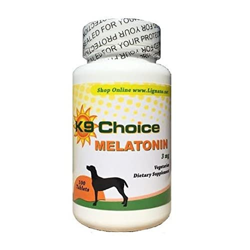 Amazon.com: K9 Choice Melatonin 3 mg 100 Tablets: Pet Supplies