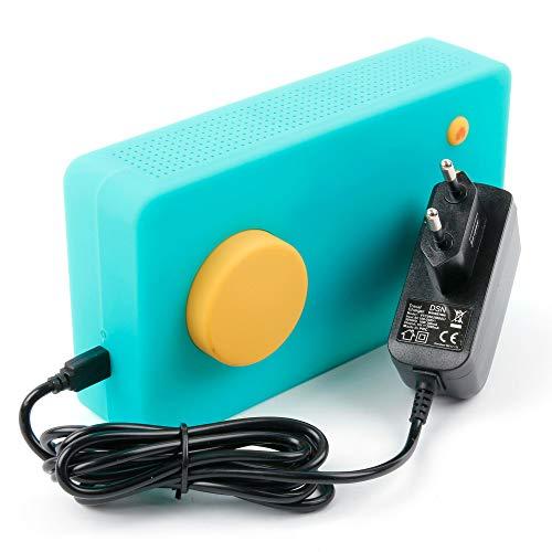DURAGADGET Chargeur Secteur à Prise Murale Compatible avec Lunii, ma Fabrique à Histoires (Ancien modèle) - Charge Rapide 2 amp et Port Micro USB