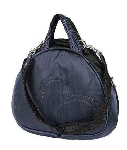 EVISU x Mandarina Duck Bowling Bag Damen-Tasche Schultertasche Handtasche