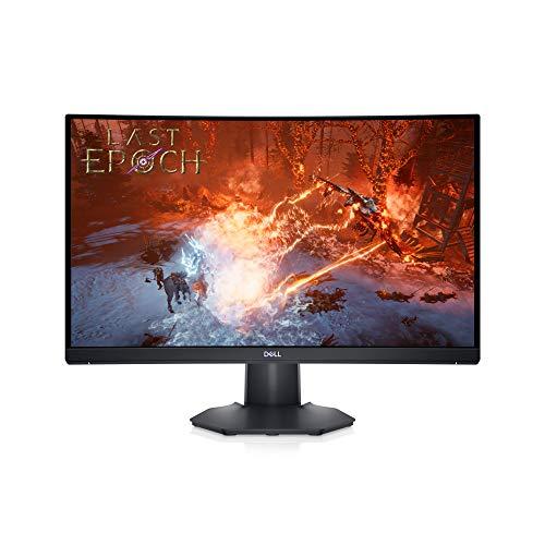 Dell S2422HG 23.6 Inch Full HD (1920x1080) Gaming Monitor, 1500R Curved Screen, 165Hz, VA, 4ms, AMD FreeSync Premium, 99% sRGB, 2x HDMI, 3 Year Warranty, Black