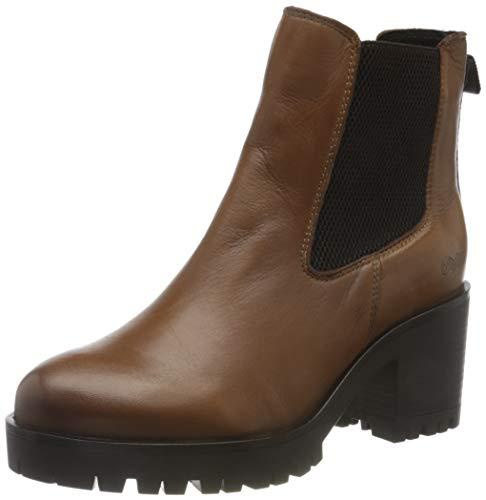 Buffalo Damen MEERA Mode-Stiefel, Cognac, 39 EU